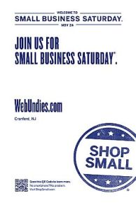 WebUndies is participating in Small Business Saturday