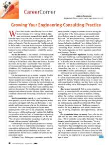 Growing a Consulting Practice